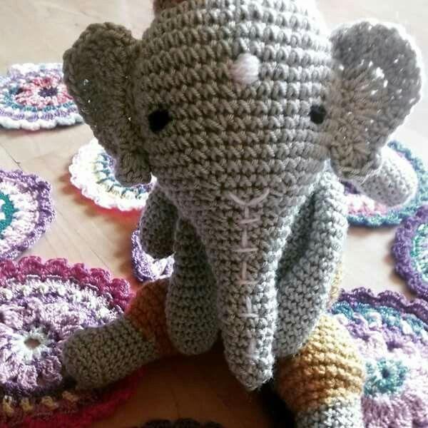 Ganesh Crochet Planeta arcoiris