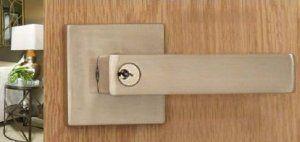 Front Door Lock Entry Door Handleset Lockset Hardware Cosmopolitan Handle for…