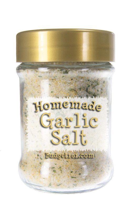 Garlic Salt recipe. Crazy easy!!!