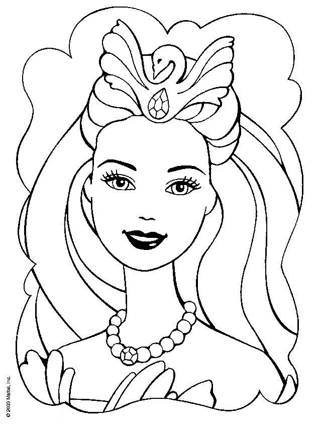 184 best Barbie Coloring pages images on Pinterest  Barbie