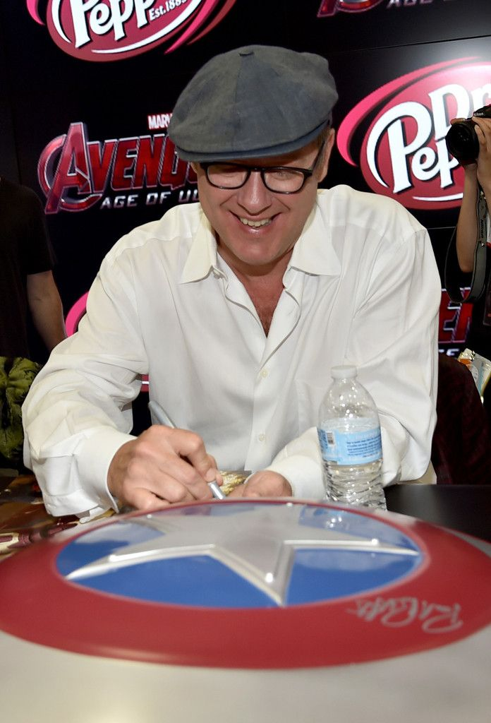 "James Spader Photos: Marvel's ""Avengers: Age Of Ultron"" Booth Signing During Comic-Con International 2014"
