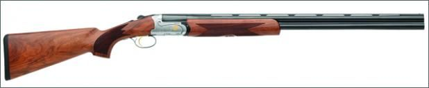 Best O/U Shotgun of 2013: Fabarm Elos Deluxe  $2,895; (fabarmusa.com) A rounded receiver and streamlined top lever give this new Italian smallbore over/under a distinctively modern look, while the well-executed acanthus scrollwork, game-scene engraving, and matte-finished walnut stock add a classic touch.