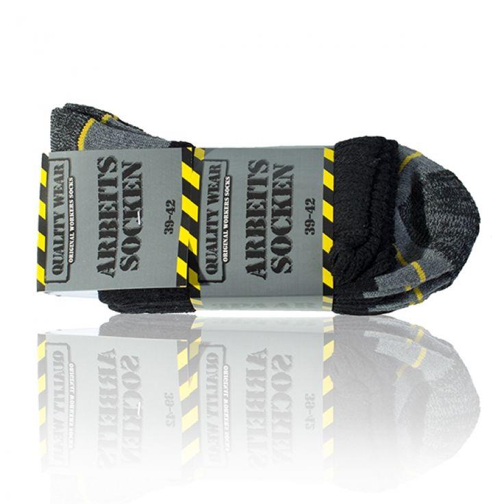 Arbeitssocken Worker Socks Komfort - 3 Paar