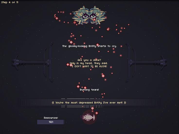 Boss 3 - Electricity Entity, from my game RymdResa http://rymdresa.com/