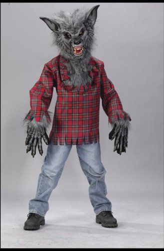 Big Boys' Werewolf Costume Large (12-14) >>> See this great product.