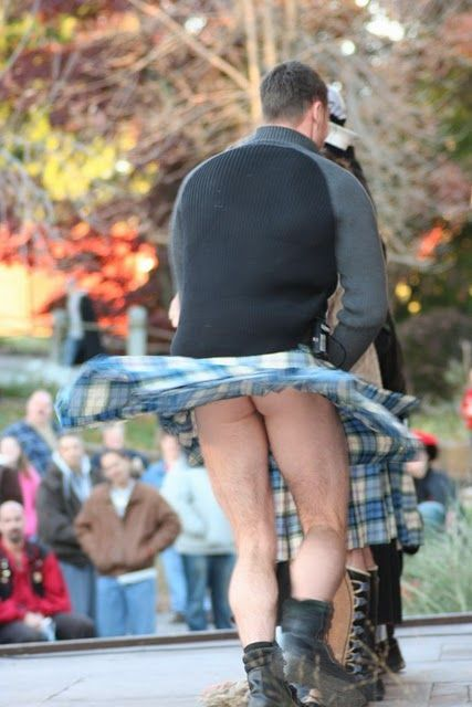 MEN IN KILTS....thus the answer to the question....do men wear anything under their kilts? ;)