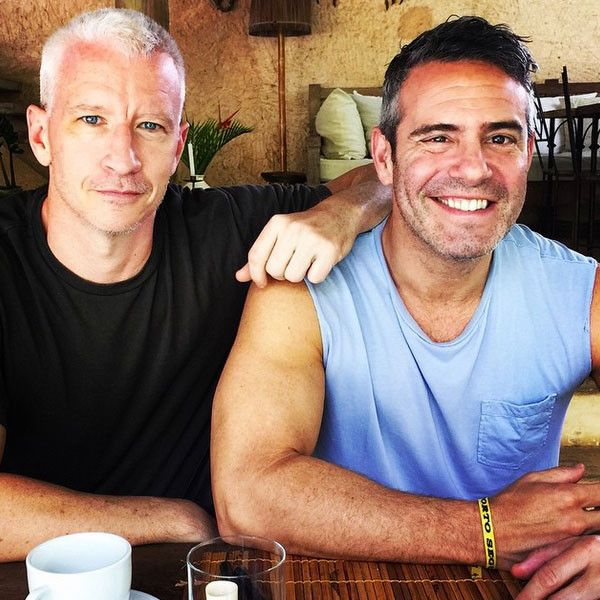 Kelly Ripa Dishes on Anderson Cooper and Andy Cohen's Birthday Celebrations!  Anderson Cooper, Andy Cohen