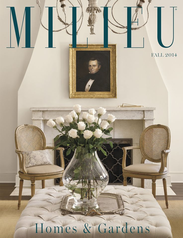 Fall 2014 issue of MILIEU Home Living