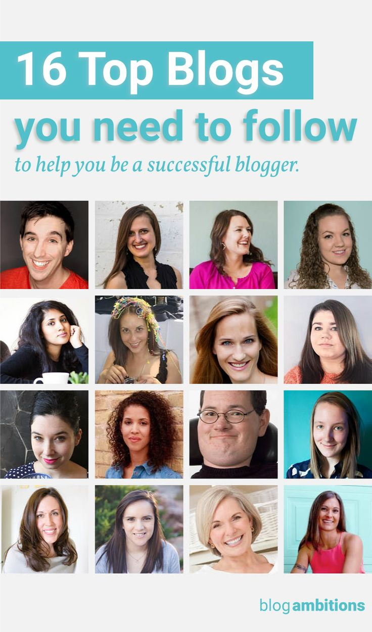 You need to be following these 16 bloggers (like yesterday) to help you be a better blogger.