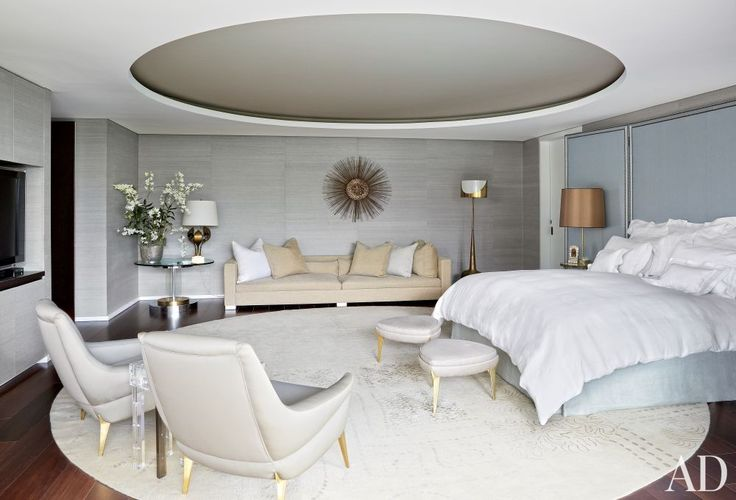 Contemporary Bedroom by Jean-Louis Deniot and Jean-Louis Deniot in Colombia | Modern Sofas. Living Room Inspiration. Bedroom Ideas. Bedroom sofa. #modernsofas #bedroomsofa