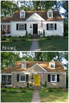 20 Best Painted Brick Images On Pinterest Cedar Shutters