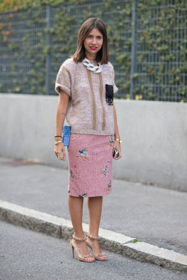 See which catwalk styles were embraced by the finest on the street. Click here for more spring trend inspiration.