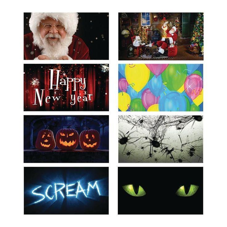 Halloween Window Projector with 14 Original Content Seasonal Holiday videos #HalloweenWindowProjector