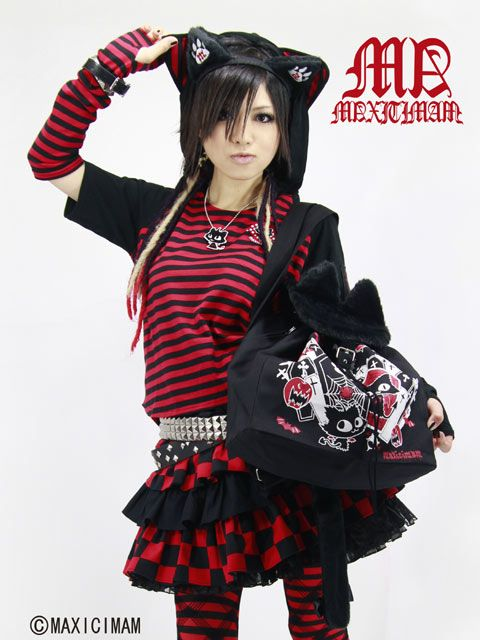 Maxicimam Gothic, Gothic Lolita Punk, Lolita Punk Fashion, Gothic Fashion, Fashion Beauty, Four Layered, Skirt Apparel Listed, Layered Frill, Casual Clothes