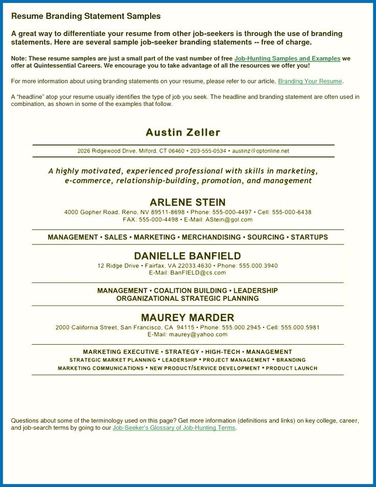 Resume Templates 101 Resume Templates 101 Format For Resume For ...