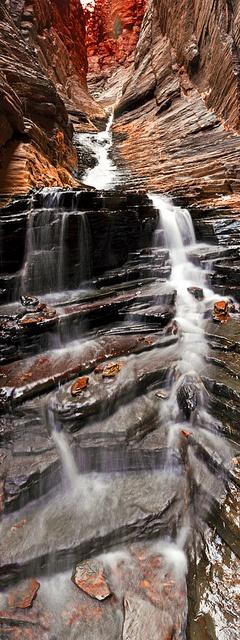#Waterfalls at Karijini, #Australia http://www.flickr.com/photos/bryceworld/5497949324/in/photostream/