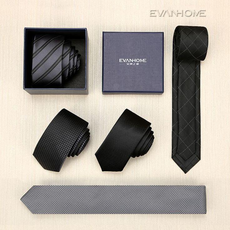 SALE New 2016 High Quality Designers Brand 5CM Slim Tie Men Casual Ties For Men Silk Tie Men's Ties Luxury Necktie With Gift BOX