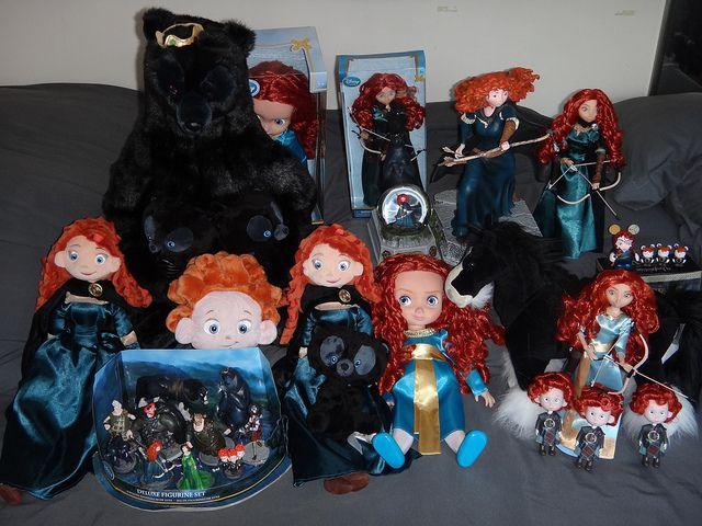 Brave movie merida dolls  | Disney Store Brave Merida Dolls and Figures - Take #1 | Flickr - Photo ...