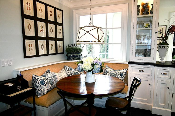 banquetDining Room, Beach Home, Kitchens Banquettes, Kitchens Seats, Breakfast Nooks, Kitchens Nooks, Dining Nooks, Beach Kitchens, Elegant Beach