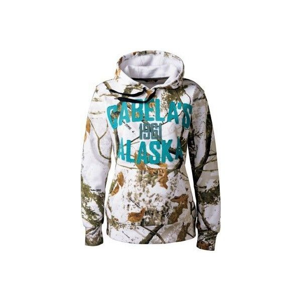 Cabela's Women's Camo Alaska Hoodie ❤ liked on Polyvore featuring tops, hoodies, camouflage hooded sweatshirt, camouflage hoodies, camo top, hooded sweatshirt and sweatshirt hoodies
