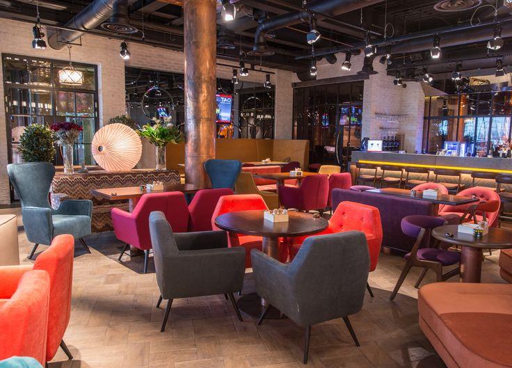 Интерьер кафе, Мебель DLS