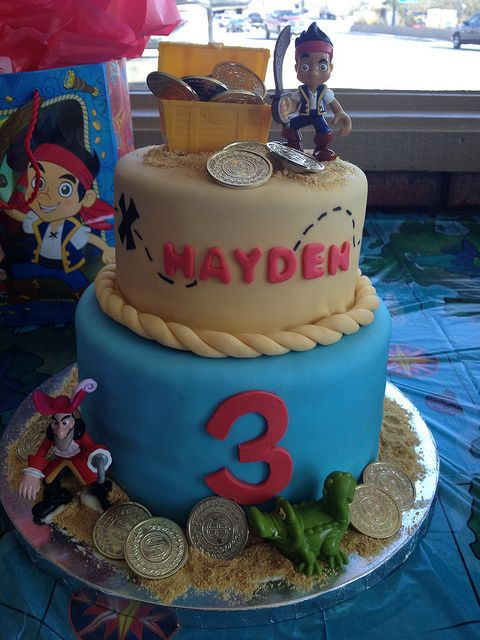 Jake And The Neverland Cake | Jake and the Neverland Pirates Cake | Flickr - Photo Sharing!