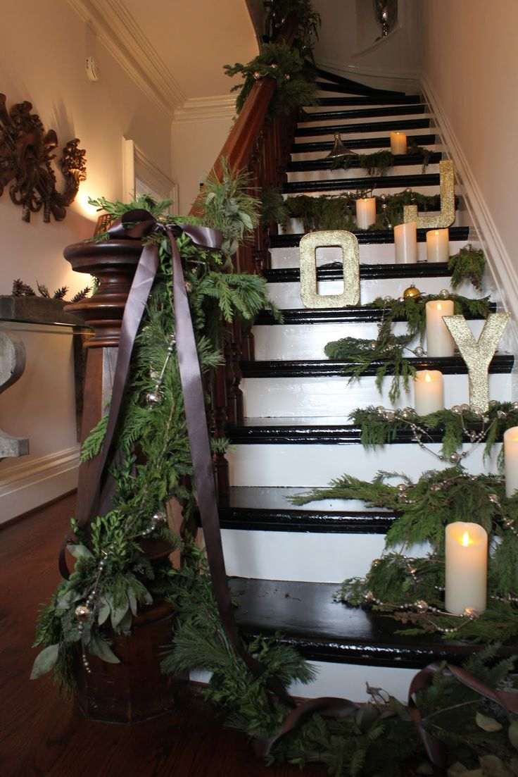 Design Christmas Staircase 1148 best christmas staircase images on pinterest and state our showhouse dont worry the candles are battery operated