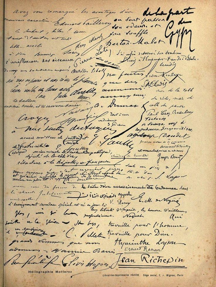 Typografie-französisch-Handschrift-1