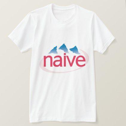 Evian = Naive Vaporwave Shirt - minimal gifts style template diy unique personalize design