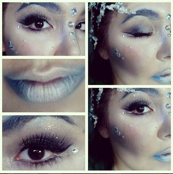Ice Queen Makeup!