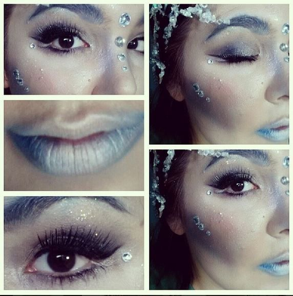 Ice Queen Makeup!