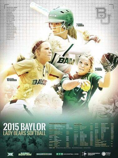 2015 Baylor Softball