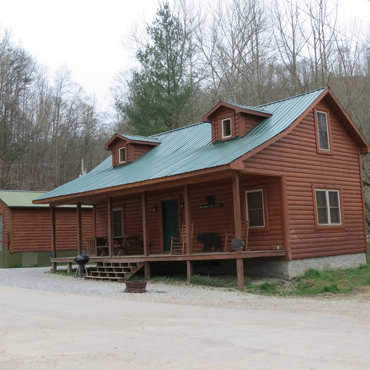 Harlan county campground cabin rentals 8331 hwy 119 n for Kentucky cabins rentals