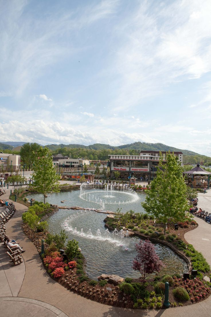Spring at The Island in Pigeon Forge, Tennessee | The Island in Pigeon Forge | Pinterest ...
