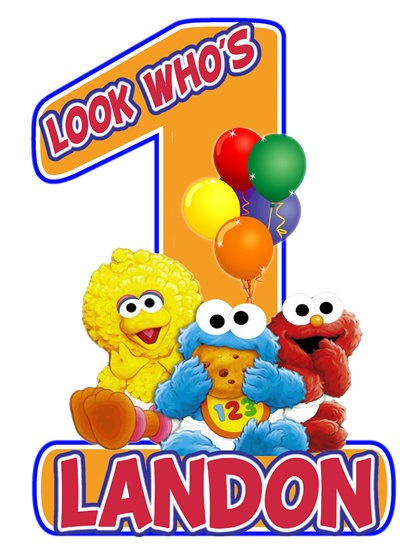 Sesame Street Baby Elmo 1st Birthday Party t by ...