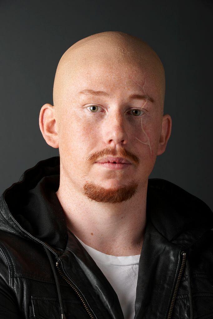 Bald Cap Makeup Student