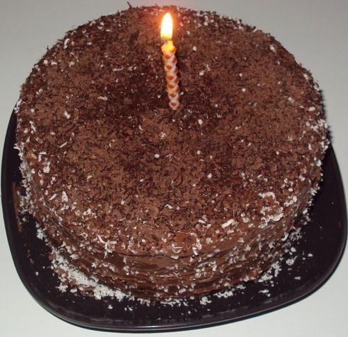 GÂTEAU AU CHOCOLAT SIMPLE / SIMPLE CHOCOLATE CAKE