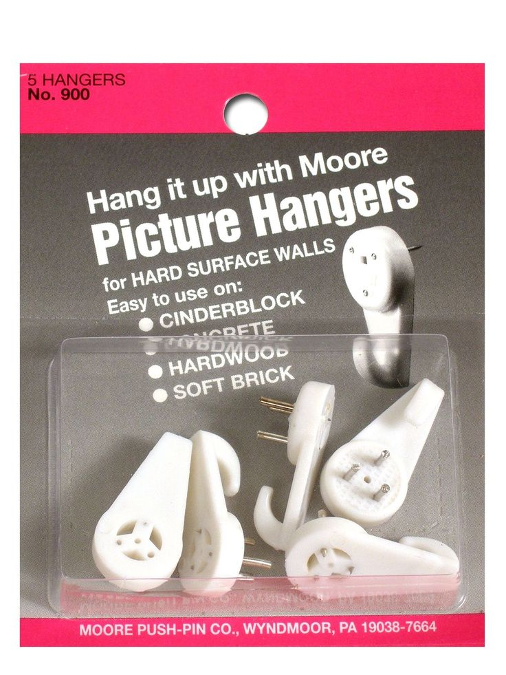 Moore Hardwall Picture Hangers Ad Supplies Art Crafts Artist Products Ad With Images Picture Hangers Hanger