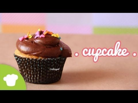 Como hacer Cupcakes FACIL - YouTube
