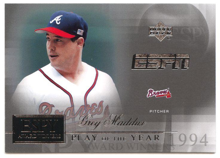 Greg Maddux # AW 2 - 2005 Upper Deck ESPN Baseball ESPY Award Winners