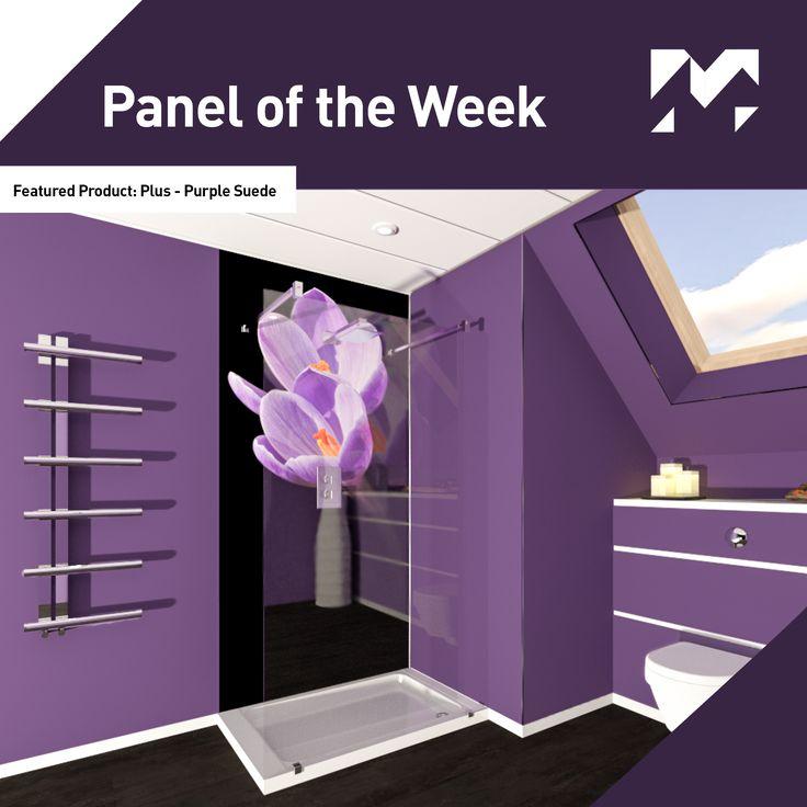 Panel of the Week! This week our featured #paneloftheweek is our Plus Range - Purple Suede.