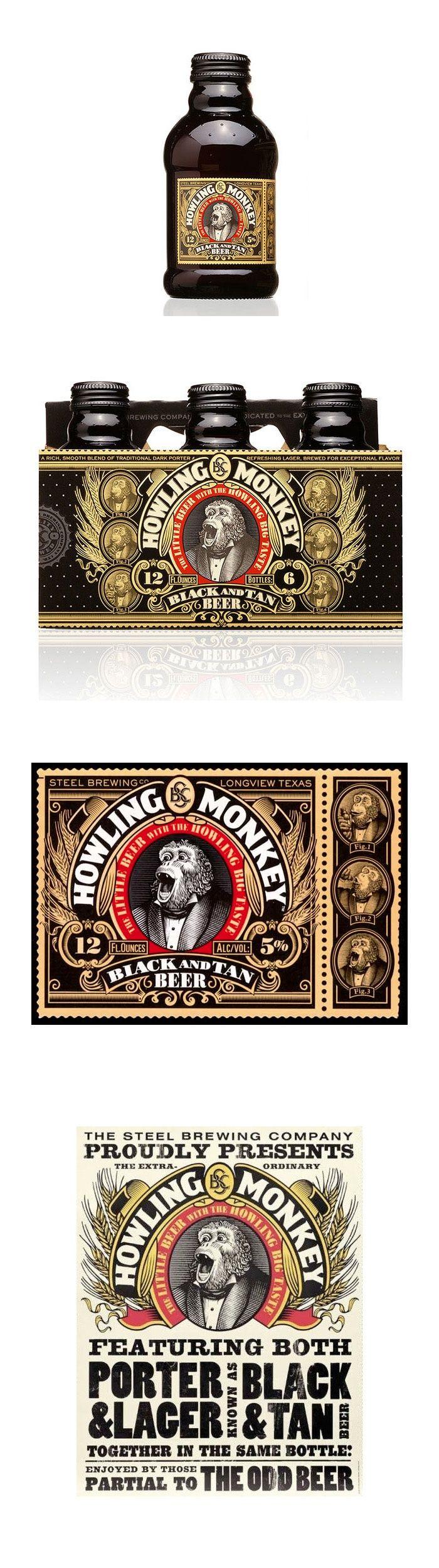 Howling Monkey Beer *** Designed by Turner Duckworth