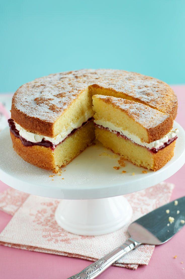 Gluten free Victoria sponge