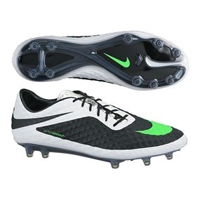 It is like a tuxedo for your feet. Get your Nike Hypervenom Phantom FG Soccer Cleats (Black/Neo Lime/White) today at soccercorner.com
