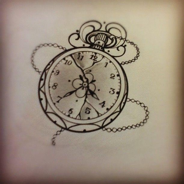 timepiece tattoo | Miss Juliet...Tattoo,Draw and Life: Clock tattoo