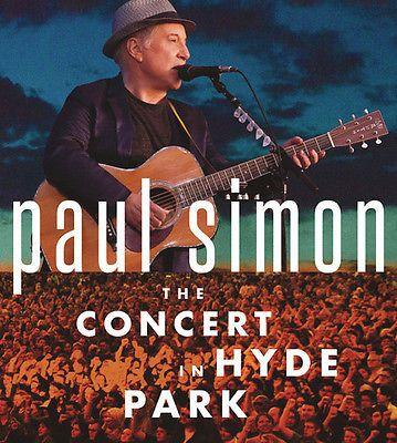 Paul Simon - Concert In Hyde Park [CD New]