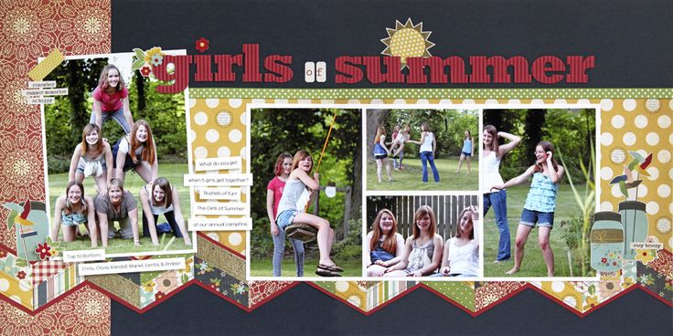 Girls of Summer - Scrapbook.com