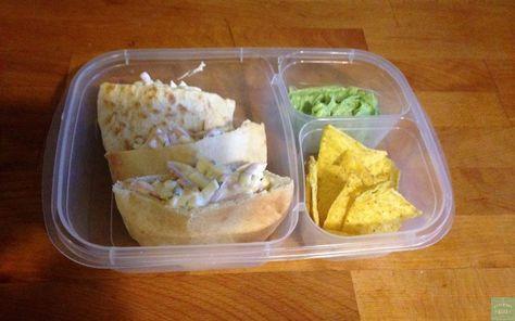 Idée Lunch – Pita salade aux oeufs