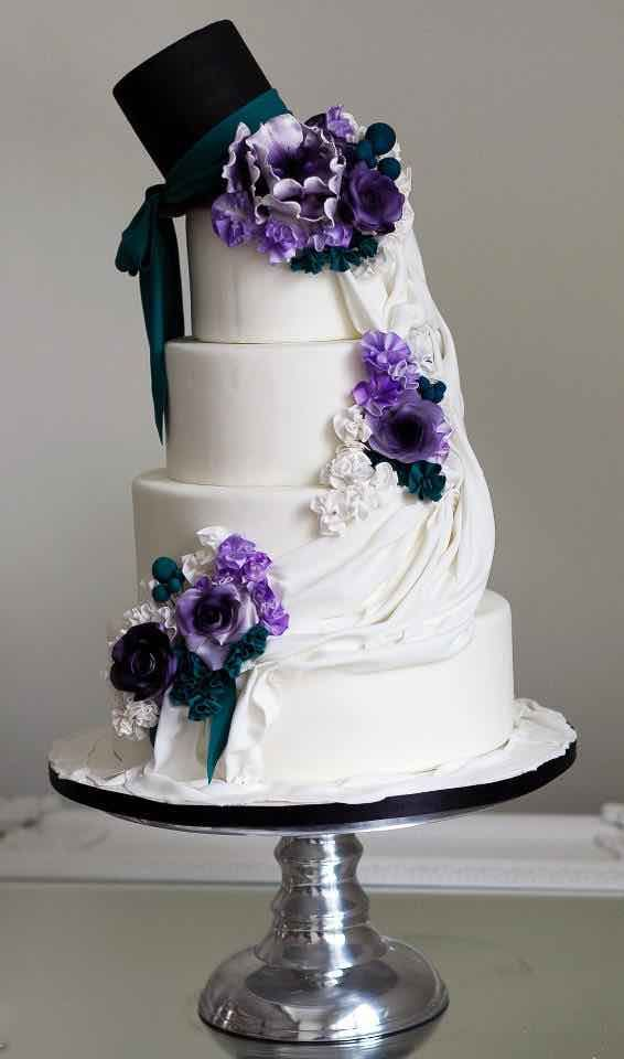 Sophie Bifield Cake Company; These Wedding Cakes are SO Pretty - Sophie Bifield Cake Company