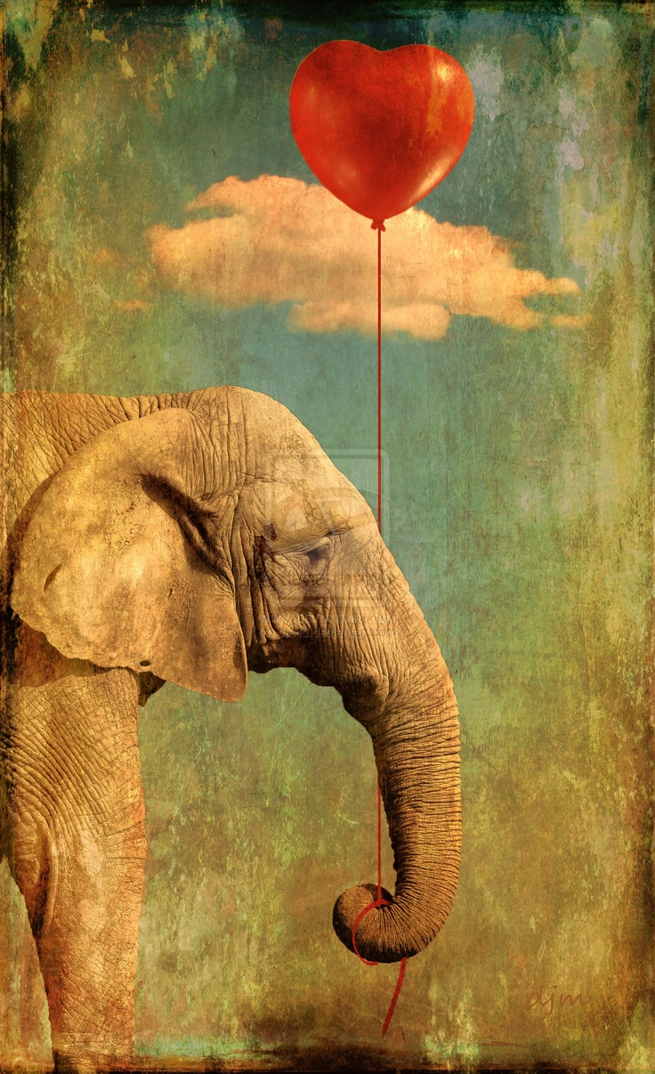 152 best Elephant art images on Pinterest - photo#8